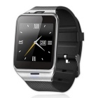 "GV08 1.5"" OGS Touch Screen Bluetooth V3.0 Smart Watch Phone w/ Camera / SIM / TF Card Slot - Black"