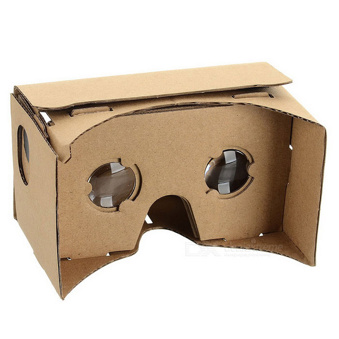 Assembling Google Virtual Reality Cardboard w/ Resin Lens Set - Khaki