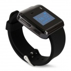 "W-watch W320S 1.0"" OLED Screen Waterproof Bluetooth V3.0 Smart Wrist Watch - Black"