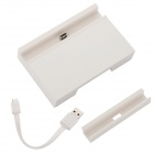 EPGATE Cellphone Charging Dock Station w/ USB Cable for HTC M8 - White