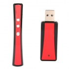 EPGATE D00003 100mW Red Light USB Laser Pointer Pen w/ Remote Control - Red (1 x AAA)