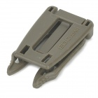 EDCGEAR ITW Handy Convenient PVC Quick-release Buckle - Army Green