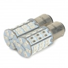 1142 BA15D 10W 42-SMD 5730 LED White Light Brake / Reversing / Turn Lamp (DC 12~16V)