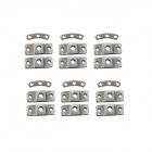 Walkera TALI H500 Hexacopter Spare Parts TALI H500-Z-04 Body Fixing Block - Silver (18 PCS)