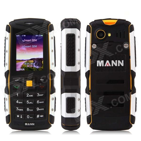 MANN ZUG-S IP67 Waterproof Dustproof Shockproof Rugged GSM Phone w/ 2.0 Screen, Quad-band - Silver