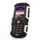 "MANN ZUG-S IP67 Waterproof Dustproof Shockproof Rugged GSM Phone w/ 2.0"" Screen, Quad-band - Silver"