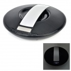 SDY-021 Wireless Bluetooth V3.0 Speaker w/ FM / TF / Micro USB / USB / Alarm Clock - Black + Silver