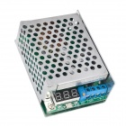 C6A2 10A Adjustable DC to DC Buck Module - Silver + Green