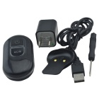 VESKYS Waterproof Rechargeable GSM / GPRS GPS / A-GPS Locating Tracker - Black