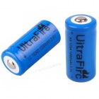 UltraFire 16340 3.6V 1000mAh Rechargeable Li-ion Batteries (2 PCS)