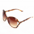 Restore Style Women's PC Frame PC Lens UV400 Protection Sunglasses - Tortoiseshell