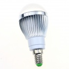 CXHEXIN S14-8 E14 8W 640lm Cool White 16-SMD 5630 LED Light Bulb