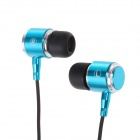 KEENION KDM-E004 3.5mm MP3 Stereo In-Ear Earphone - Blue (120cm)