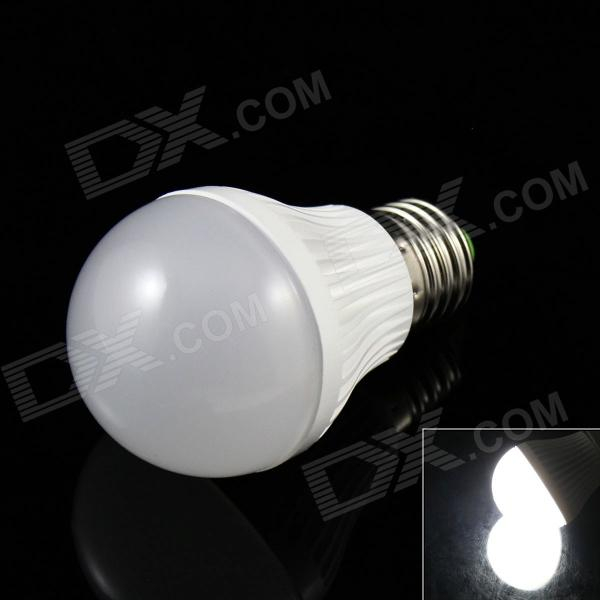 SKLED SK-5W E27 5W 350lm 6500K 10-SMD 5730 LED White Light Lamp Bulb - White (AC 85~265V)