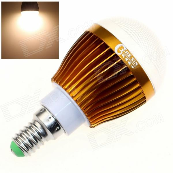 CXHEXIN G14-8 E14 8W 640lm 3000K 16-SMD 5630 LED Warm White Light Bulb - Golden + White (AC 85~265V) cxhexin s27 8 e27 8w 560lm 3000k 5630 smd led warm white light bulb white silver ac 85 265v