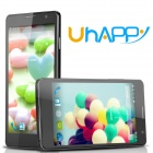 "Uhappy UP520 MTK6582 Quad-Core Android 5.0 WCDMA Bar Phone w/ 5.0"" QHD, 8GB ROM, 8MP, OTG - Black"