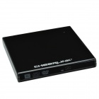 CHEERLINK ECD009-SA161 External USB2.0 Slim Case DVD Drive Case Enclosure - Black