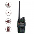 "Baiston BST558UV 1.6"" Waterproof Dual-Band Dual-Display Dual-Standby Walkie Talkie - Green"