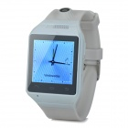 "AS9 1.54"" Screen GSM Single Core Bluetooth V2.0 Smart Watch Phone w/ TF Slot - White"