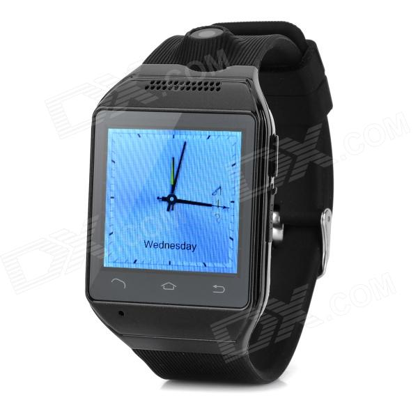 AS9 1.54 Screen GSM Single Core Bluetooth V2.0 Smart Watch Phone w/ TF Slot - Black