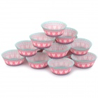 DIY Grease-proof Paper Cup Cake Tray for Cupcake - Red + Green + Multi-Color (90 PCS)