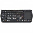 Mini Portable 71-key Bluetooth V3.0 Keyboard w/ Touch Pad for Laptop - Black (Arabic)