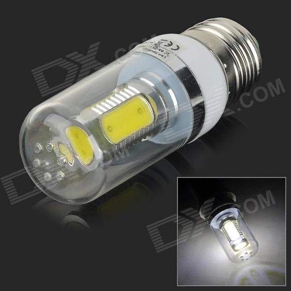 UItraFire E27 9W 180lm 8200K 5-COB LED Cool White Light Corn Lamp - White (AC 85~265V)
