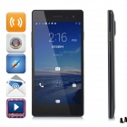 "LEAGOO Lead2 Quad-Core Android 4.4 Ultra Slim WCDMA Phone w/ 5.0"" QHD IPS,13MP, OTG, OTA - Black"