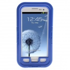 Protective Waterproof Shockproof Snowproof PC + Silicone Case for Samsung Galaxy S3 i9300 - Blue