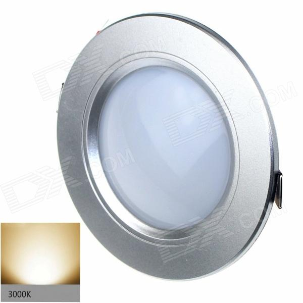 ZHISHUNJIA S030-5W 300lm 3000K 2835-SMD 20-LED Warm White Light Ceiling Lamp -Silver (AC 85~265V)