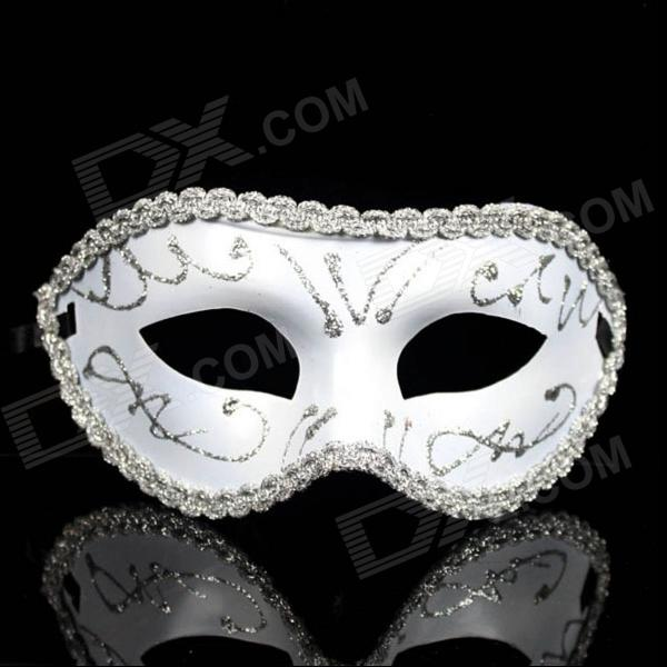Cosplay Prince Slipknot Face Mask for Halloween / Masquerade / Costume Party - Silver devil may cry 4 dante cosplay wig halloween party cosplay wigs free shipping