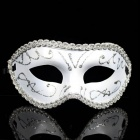 Cosplay Prince Slipknot Face Mask for Halloween / Masquerade / Costume Party - Silver