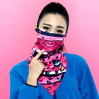 Wild Color VC1406 Women's Outdoor Cycling V-Shaped Headband / Face Mask / Neck Scarf - Multi-colored
