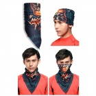 Wild Color VC1409 Men's Outdoor Cycling V-Shaped Headband / Face Mask / Neck Scarf - Multi-colored