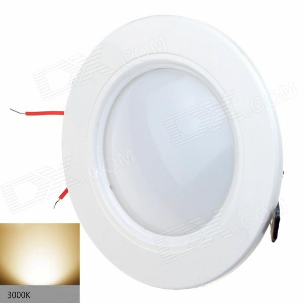 ZHISHUNJIA W030-7W 420lm 3000K 27-SMD 2835 LED Warm White Light Ceiling Lamp - White (AC 85~265V) kinfire m 18ww 18w 1610lm 3000k 90 smd 3528 led warm white ceiling lamp white ac 85 265v