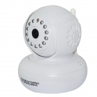 "WANSCAM HW0021 1/4"" CMOS 1.0MP Indoor IP Camera w/ 13-IR-LED / Wi-Fi / IR-CUT / TF - White (UK Plug)"