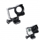 BZ BZ255 Protective Frame Lens Hood w/ Screws for GoPro Hero3+ - Black