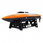 UDIR/C Wireless Remote Control Boat / Speed Boat Shatterproof Model - Orange + White