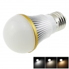 HONSCO E27 4W 350lm 12-SMD LED 5730 Cool White / Weiß / Warm White Light Bulb - Weiß (AC 85 ~ 265V)