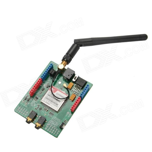 SoaringE E00314 Wireless GSM / GPRS SIM900 Shield Development Board for Arduino - Green gsm gprs shield wireless extension board module w antenna adapter for arduino