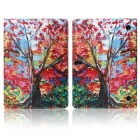 Hat-prince Maple Tree Pattern Flip Open PU Case w/ Stand for Samsung Galaxy Tab S 10.5 T800