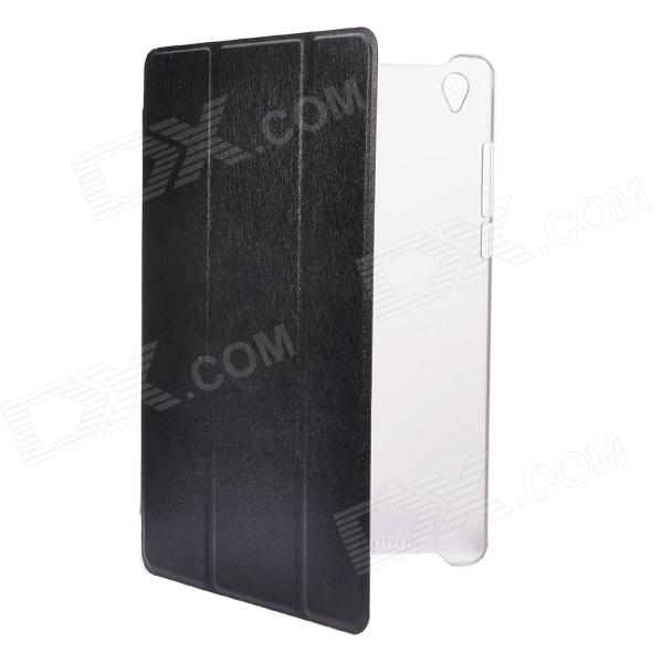 NEJE SZ0018-1 Ultra-thin Intelligent Protection Leather Case for Mipad / XiaoMi Pad - Black