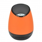 Portable USB2.0 Bluetooth V2.1+ EDR Stereo Mini Speaker w/ Hand Free / TF Funcrtion - Orange + Black