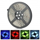 ZDM ZDM-5RGB06F1 Waterproof 72W 400lm 300-SMD 5050 LED RGB Light Strip - White (DC 12V / 5M)