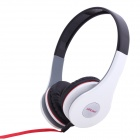 Ditmo DM-2580 Adjustable Headband 3.5mm Stereo Headphone - White (Cable-120cm)