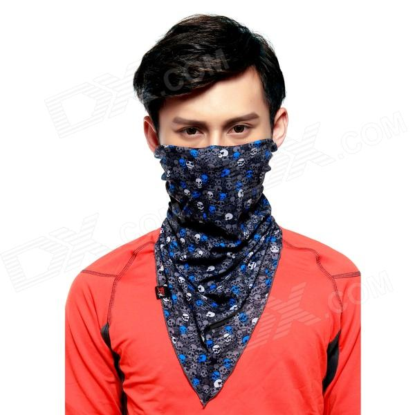 Wild Color VC1408 Skulls Patterned Outdoor Cycling V-Shaped Headband / Face Mask / Neck ScarfCycle Clothing<br><br>