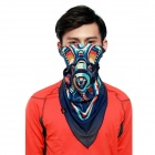 Wild Color VC1401 Gas Mask Patterned Outdoor Cycling V-Shaped Headband / Face Mask / Neck Scarf