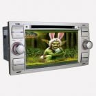 Joyous Autoradio DVD Player w / GPS-Navigator, Analog-TV, BT, Radio / AUX für Ford Focus / Kuga