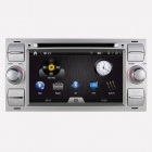 Joyous Car Stereo DVD Player w/ GPS Navigator, Analog TV, BT, Radio / AUX for Ford Focus / Kuga