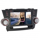 Joyous 2-DIN-Autoradios DVD Player w / GPS, Analog-TV, BT, Radio für Toyota Highlander 2007-2011